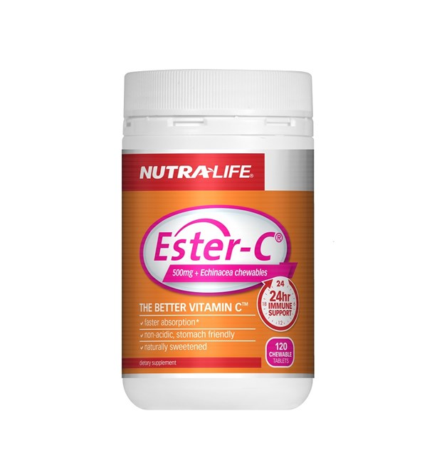 Ester C 500mg + Echinacea Chewables