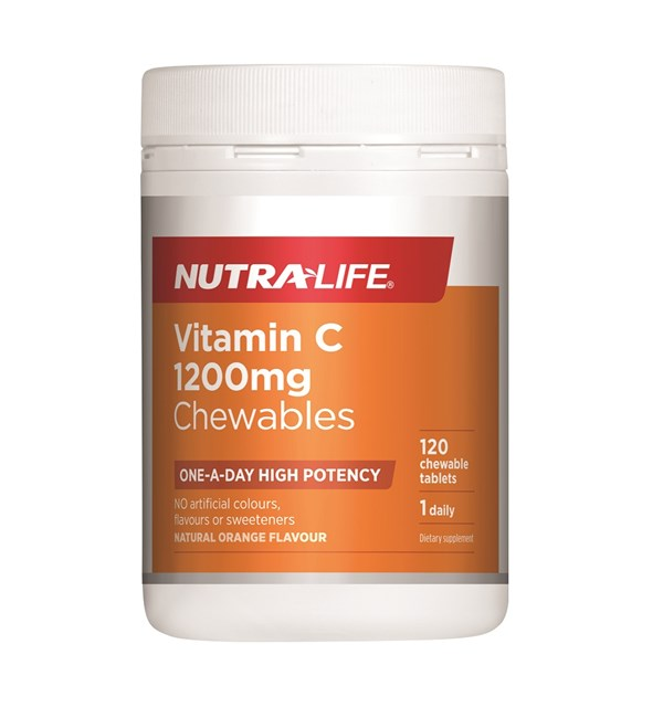 Vitamin C 1200mg Chewables