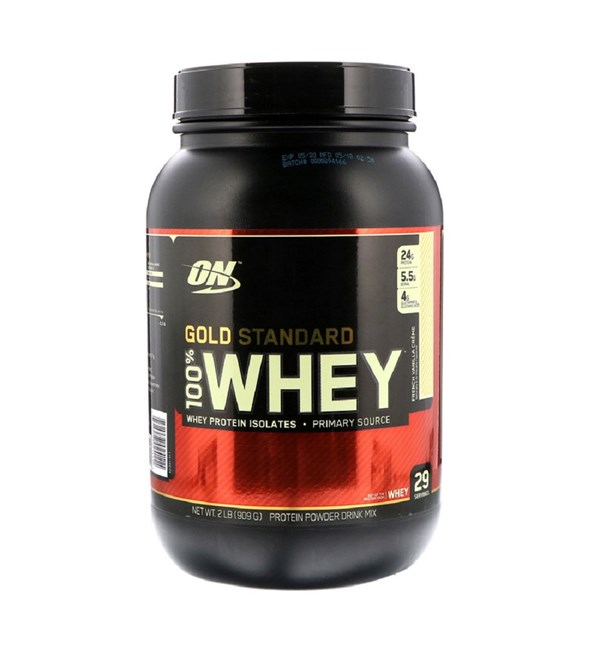100% Gold Standard Whey - French Vanilla