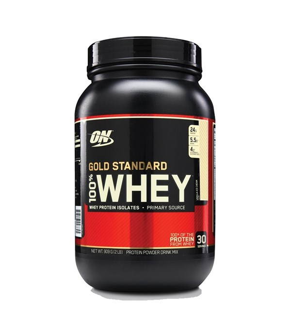 100% Gold Standard Whey - Vanilla Ice Cream