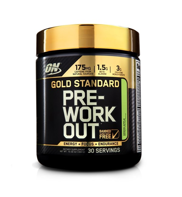 Gold Standard Pre-Workout - Green Apple