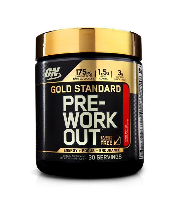 Gold Standard Pre-Workout - Fruit Punch