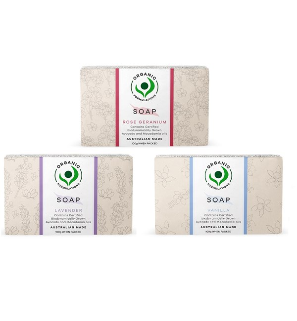 Scented Soap 3 Pack