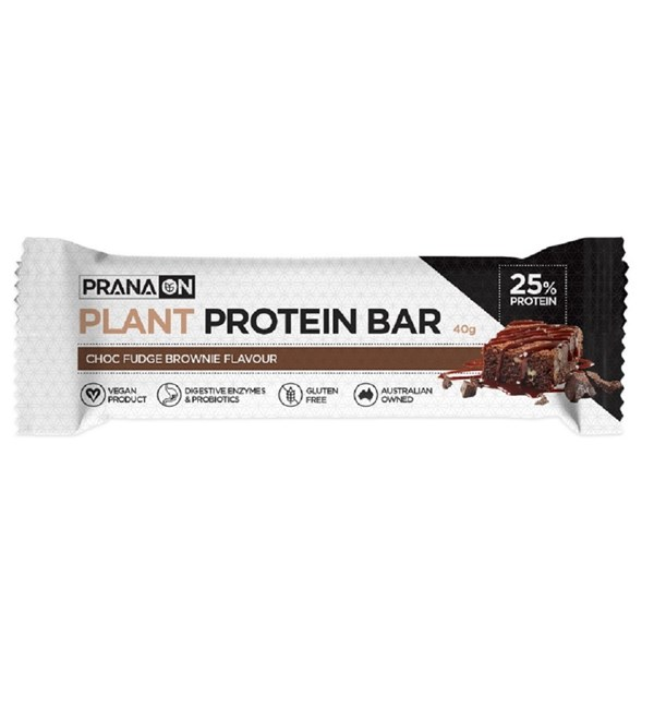 Plant Protein Bar - Choc Fudge Brownie