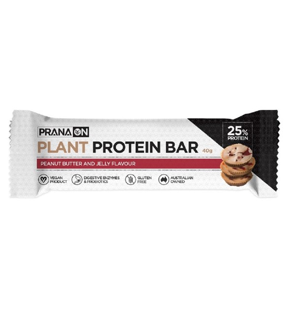 Plant Protein Bar - Peanut Butter & Jelly