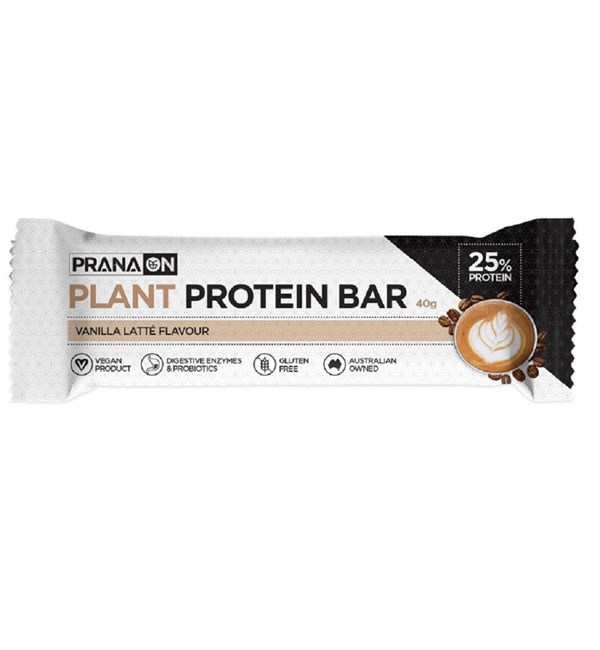 Plant Protein Bar - Vanilla Latte (Best Before May 2021)