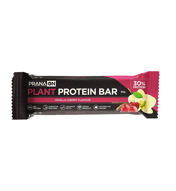 Plant Protein Bar - Vanilla Cherry (Best Before 18/02/2021)
