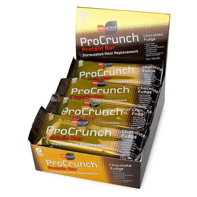 ProCrunch Protein Bars-Choc Fudge