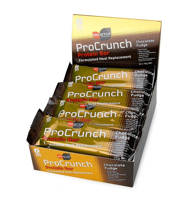 ProCrunch Protein Bars - Choc Fudge