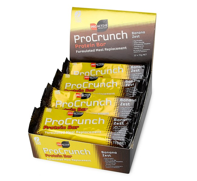 ProCrunch Protein Bars - Banana Zest