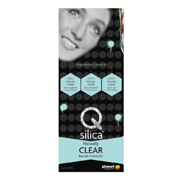 Qsilica Clear Blemish Control Kit