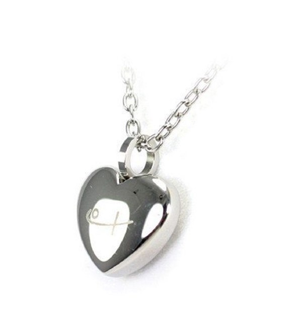 Classic Heart Pendant and Chain