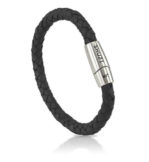 Italian Leather Band-Black