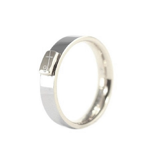 Signature Shuzi Ring Stainless Steel
