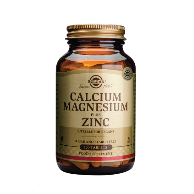 Calcium, Magnesium and Zinc