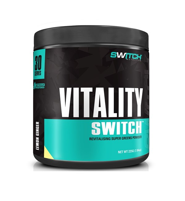 Vitality Switch Lemon Ginger