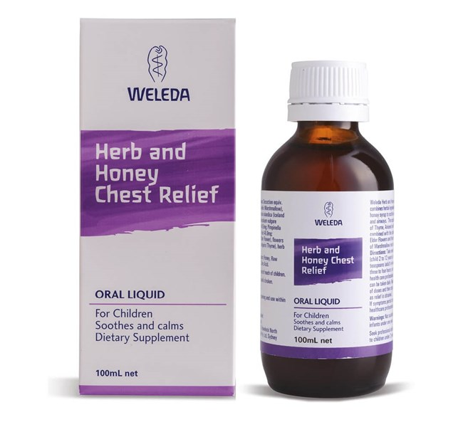 Herb and Honey Chest Relief