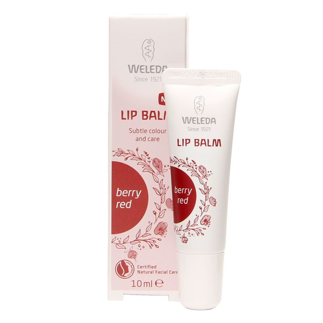 Tinted Lip Balm - Berry Red