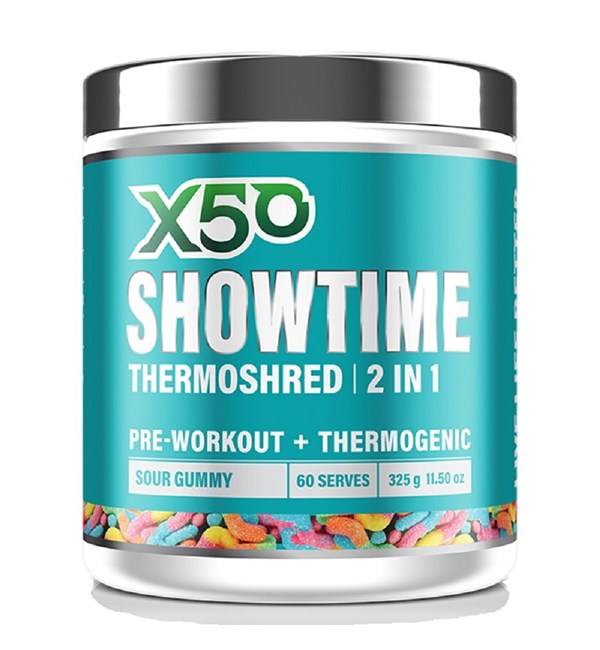 Showtime Thermoshred 2 in 1 Sour Gummy