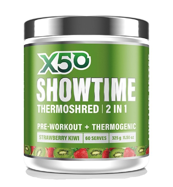 Showtime Thermoshred 2 in 1 Strawberry Kiwi