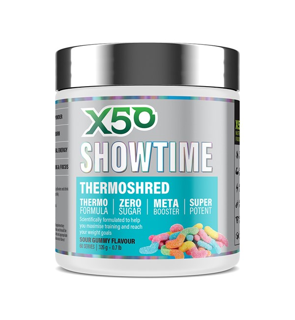 Showtime Thermo Fatburner Sour Gummy