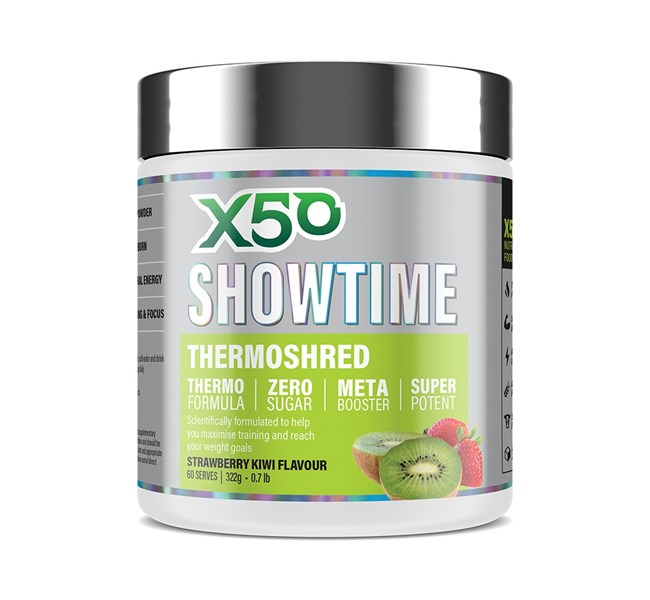 Showtime Thermo Fatburner Strawberry Kiwi