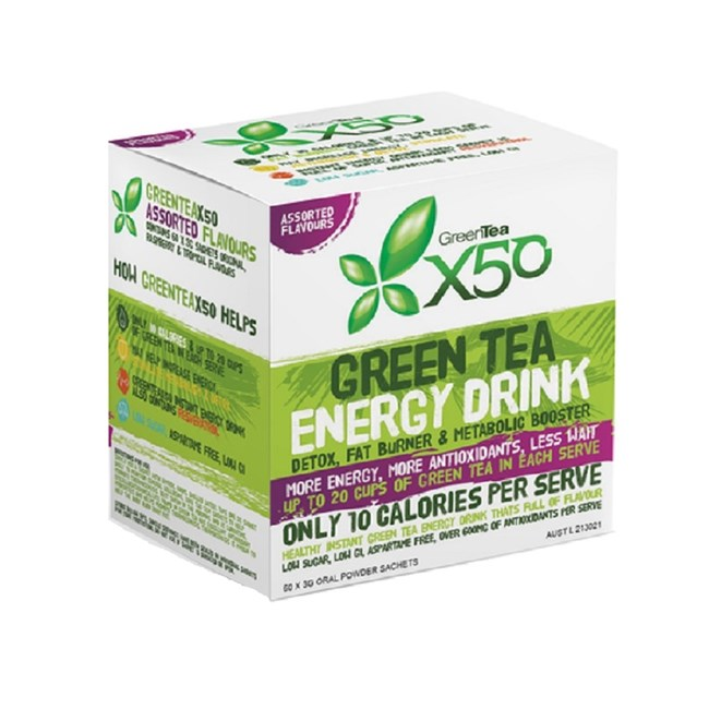Green Tea Energy Drink - Assorted