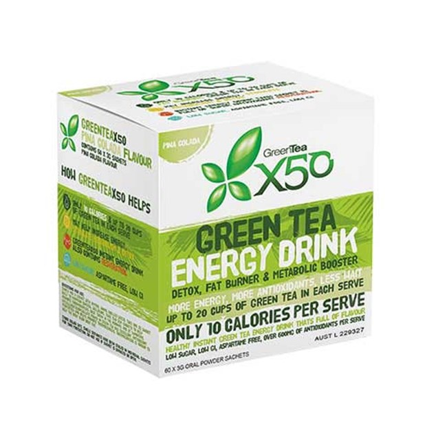 Green Tea Energy Drink - Pina Colada