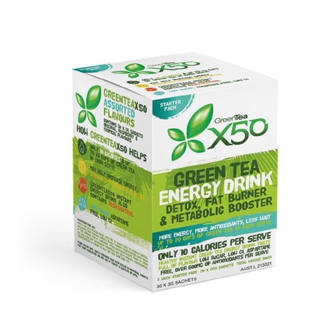 Green Tea Energy Drink - Starter Pack