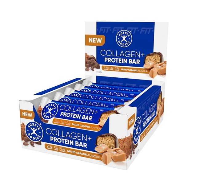Collagen Protein Bar Salted Caramel