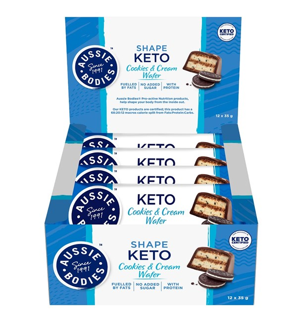 Keto Cookies & Cream Wafer
