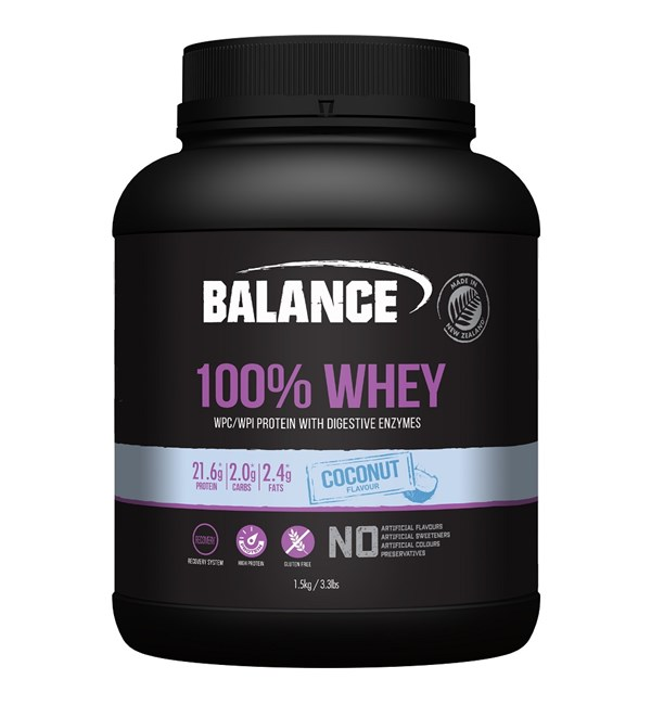 100% Whey Coconut
