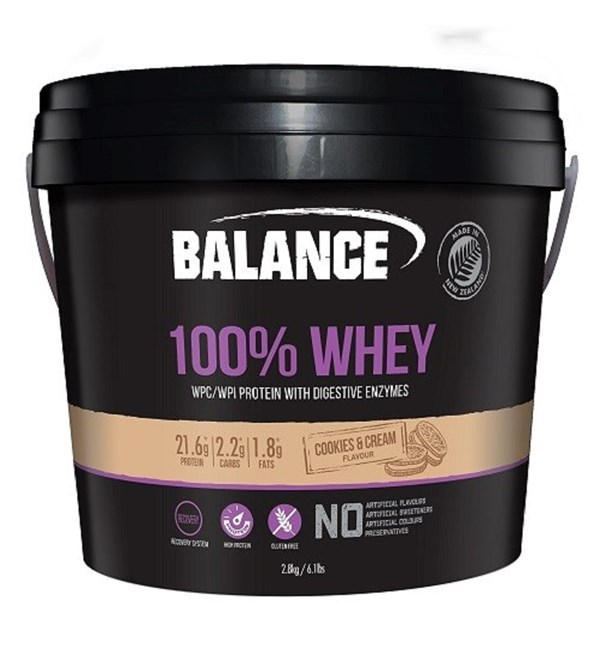 100% Whey - Cookies & Cream  (BB July 2021)