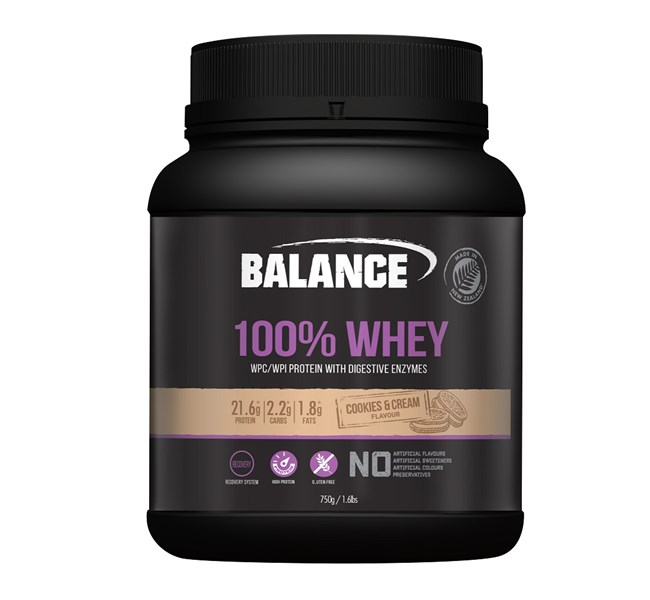100% Whey Cookies and Cream