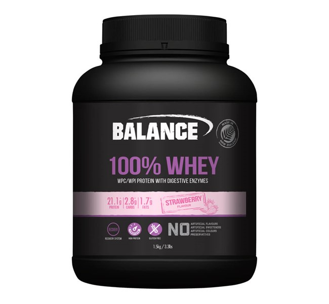 100% Whey Strawberry