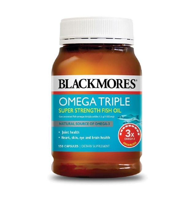 Omega Triple Super Strength Fish Oil