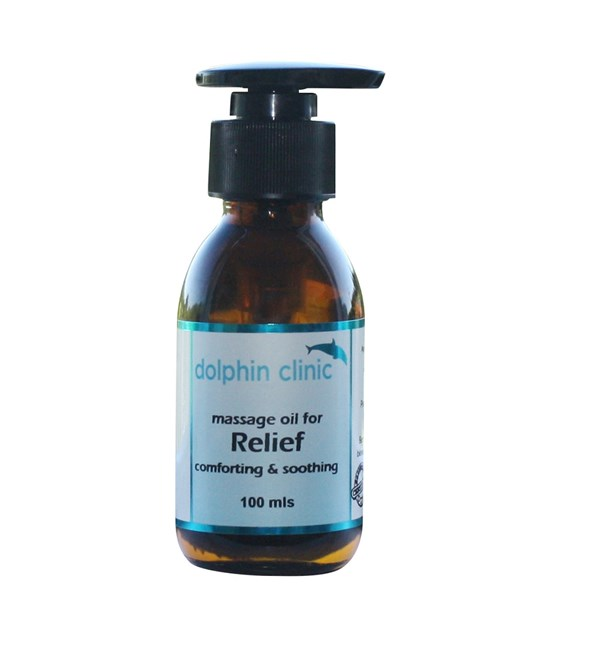Massage Oil for Relief