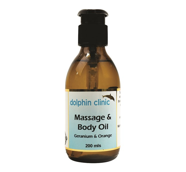 Massage & Body Oil - Geranium & Orange