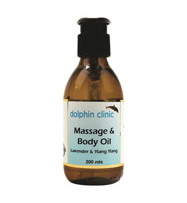 Massage & Body Oil - Lavender & Ylang Ylang