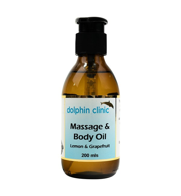 Massage & Body Oil - Lemon & Grapefruit