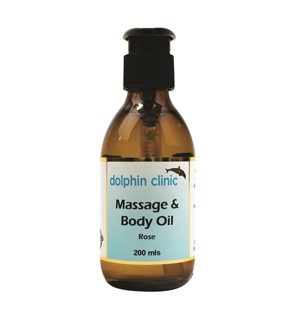 Massage & Body Oil - Rose