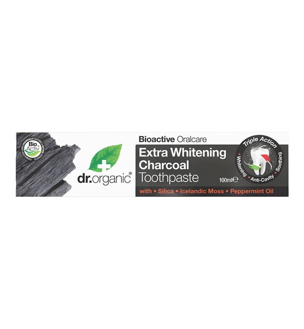Extra Whitening Charcoal Toothpaste
