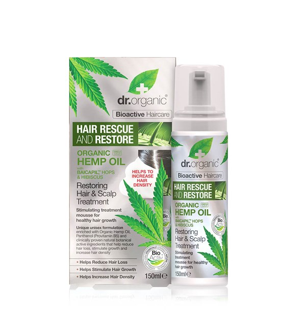 Hemp Oil Restoring Hair and Scalp Treatment
