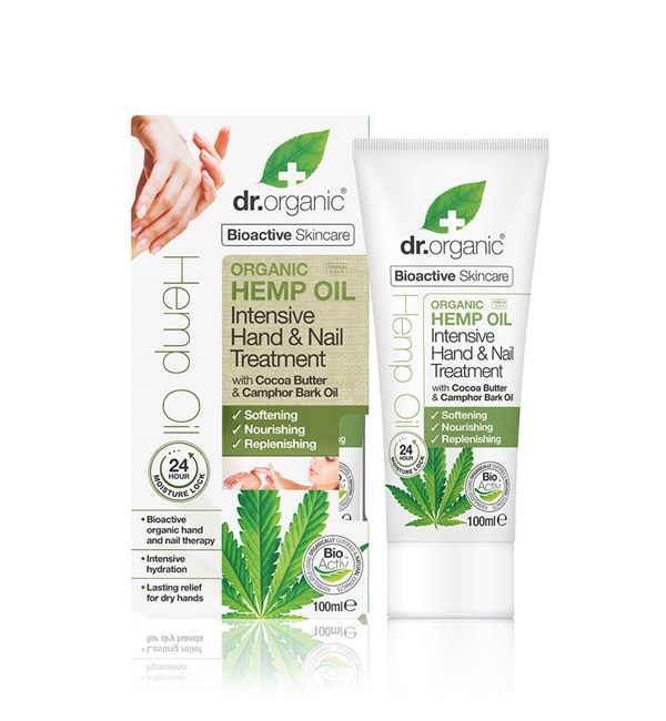 Hemp Oil Intensive Hand and Nail Treatment