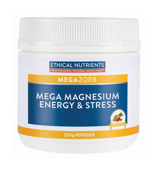 MegaZorb Mega Magnesium Energy & Stress Powder