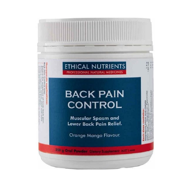 Back Pain Control