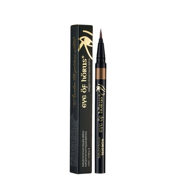 Liquid Define Liner Brown