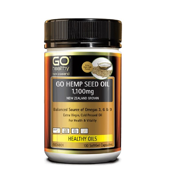 GO Hemp Seed Oil 1,100mg