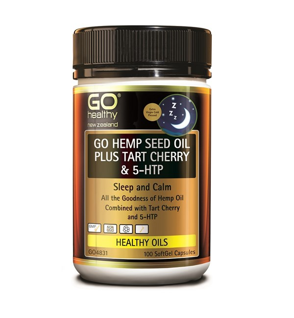 GO Hemp Seed Oil Plus Tart Cherry & 5-HTP