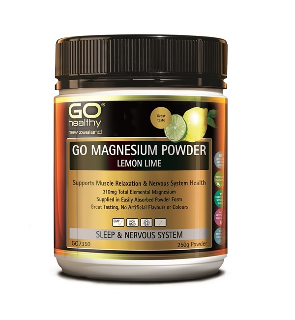 GO Magnesium Powder - Lemon Lime